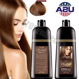 10Pcs/Box Black Hair Shampoo Hair Color Instant Dye 5 Minute