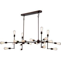 1139 Ophelia Collection Pendant Lamp L:49in W:30.5in H:17.5i