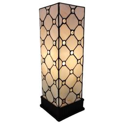18 In. Tiffany Style Jeweled Table Lamp