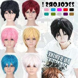 2-5 Days Delivery Unisex Japanese Anime Cosplay Wigs light b