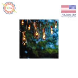 20ft outdoor patio string lights w 20