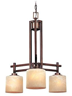 Dolan Designs 2818-133 3Lt English Bronze Roxbury 3 Light Ch