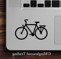 """2x CITY BIKE 3"""" x 2"""" Vinyl Decal Stickers - Commuter Bicycle"""