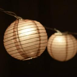 3.5 Brown Round Shaped Party String Lights