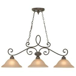 Craftmade 25233-MB 3 Light Island Chandelier