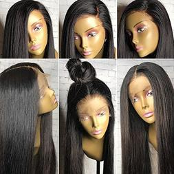 360 Lace Wig Pre Plucked 150%-180% Density Human Hair Wigs 3