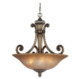 Dolan Designs 2404-162 3Lt Verona Carlyle 3 Light Pendant