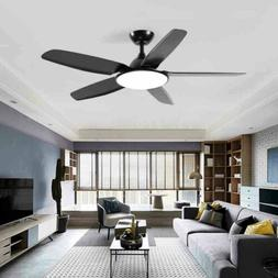 "52"" Modern Ceiling Fan Light w/ Remote Control Home Reversib"