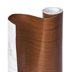 DAZZ 8607708 Light Oak Wood Adhesive Decorative Shelf Liner