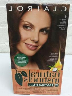 Clairol Natural Instincts Suede Light Brown Hair Color
