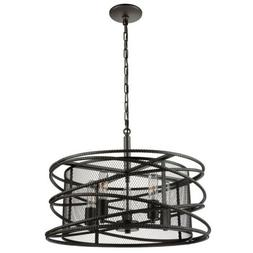 Artcraft Lighting AC10822JV Artcraft Rebar Studio 5-Light Ch