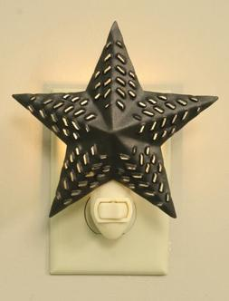barn star night light