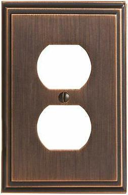 bp36522orb mulholland 1 receptacle wall plate oil
