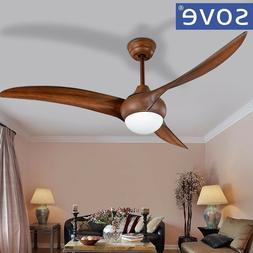 brown dc ceiling fans with light dining