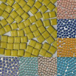 Ceramic About 100 Pieces Mosaic Tiles Material Assorted Colo