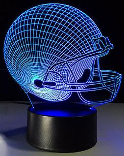Cleveland Browns -  3D LED Night Lights Desk Lamp Illusion D