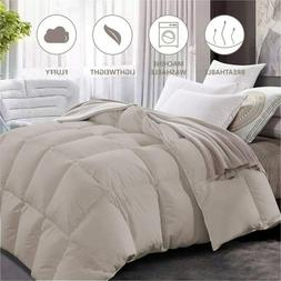 Maple Down Comforter King Size Duvet Insert, Down Alternativ