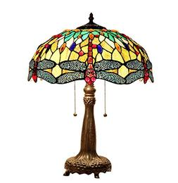 "Chloe Lighting Empress 21.1"" H Table Lamp with Bowl Shade"