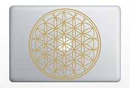 Flower of Life Laptop | Car Vinyl Sticker | Sacred Geometry