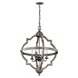 Sea Gull Lighting 5124904-846 Socorro Four-Light Hall or Foy