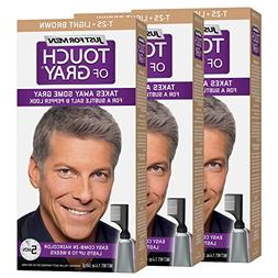 Just For Men Touch of Gray Haircolor, Light Brown - Gray T-2