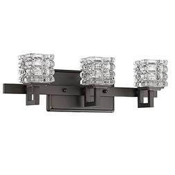 Acclaim Lighting IN41316ORB Coralie Indoor 3-Light Bathroom