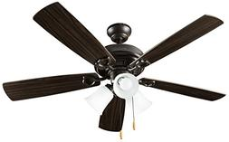 Hyperikon Indoor Ceiling Fan with Lights, 42-Inch Brown Ceil