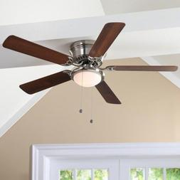 Indoor Ceiling Fan with Light Kit 52 inches 9 Watt LED Bulb