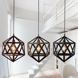 Industrial Metal Pendant Hanging Lighting Fixture Ceiling Ch