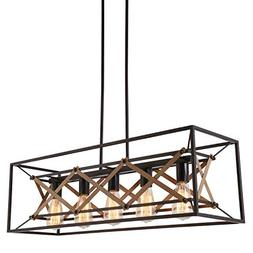 "Alice House 31.5"" Island Lighting, 5 Light Kitchen Pendant L"