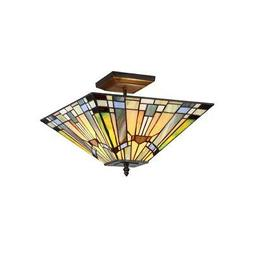 Kinsey 2 Light Semi-Flush Ceiling Fixture