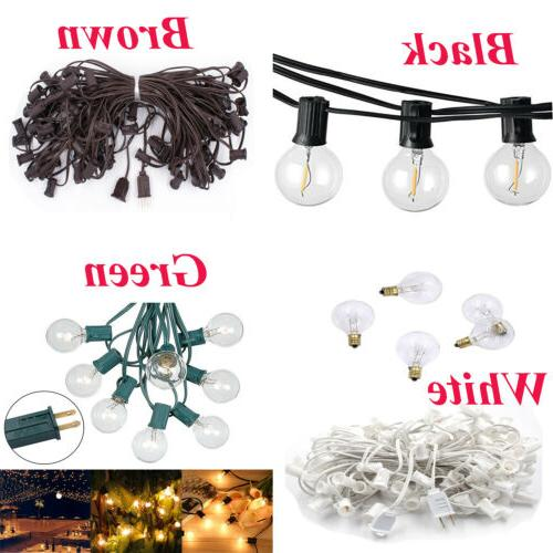 125PCS Bulb Outdoor Yard Lamp With Brown Light RV