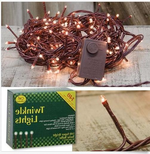 140 count teeny twinkle lights strand clear