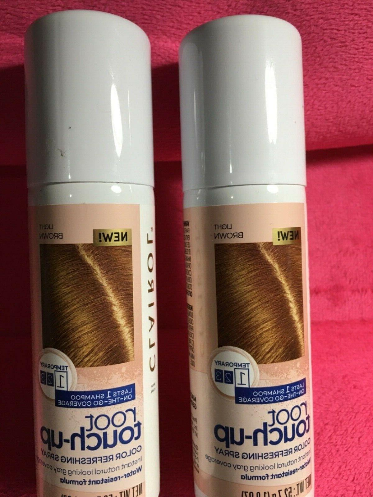 2 x light brown root touch up