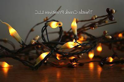 country lights strand dipped silicone
