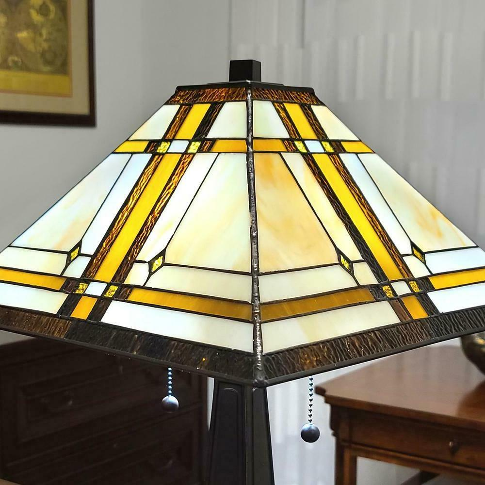 22.5 in. Tiffany Mission Table Lamp