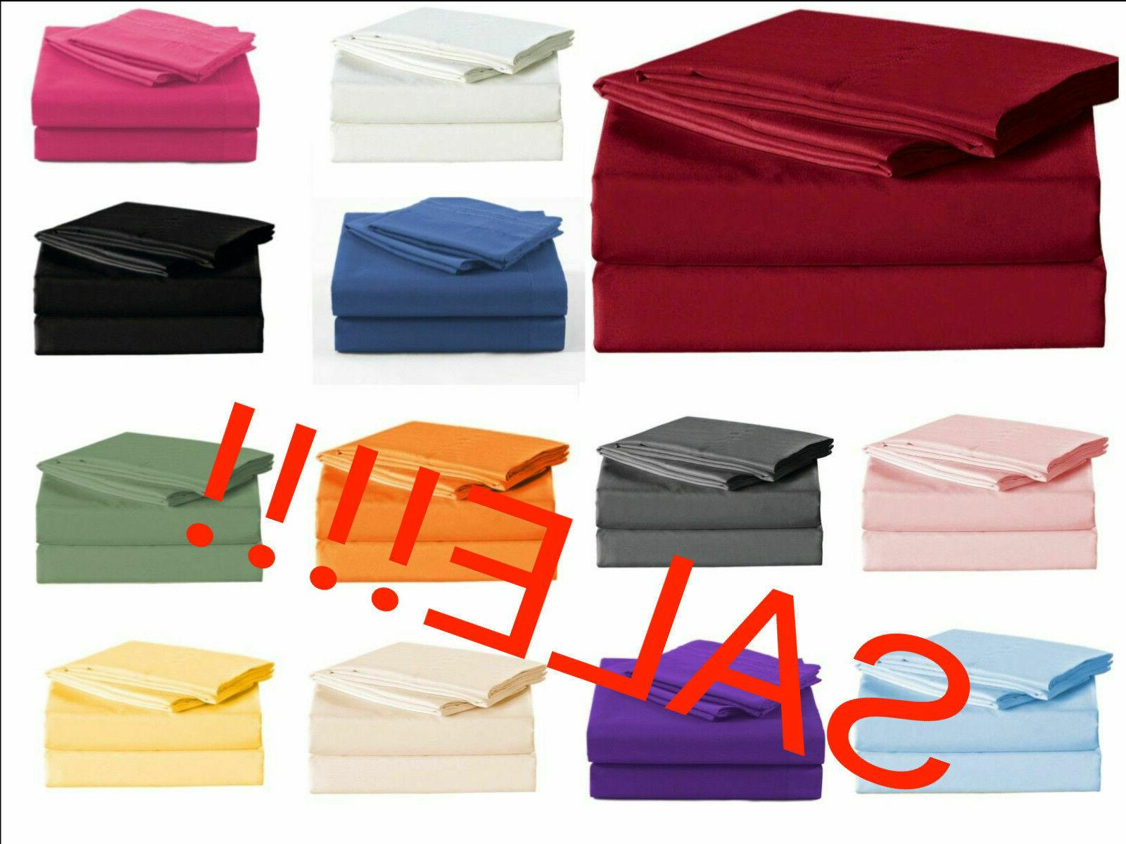 2200 count bamboo ultra comfort bed sheet