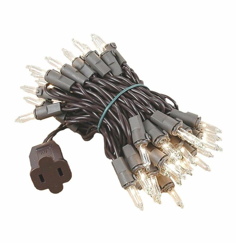 Novelty Clear Set, Brown Wire, Long