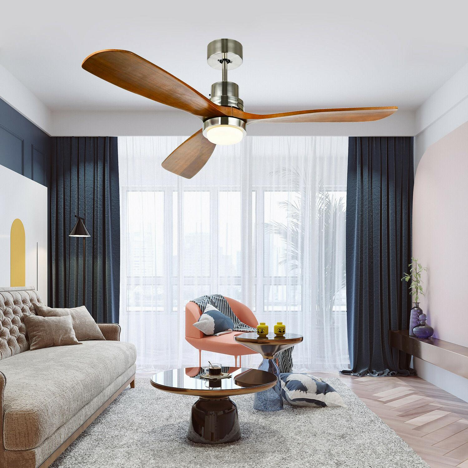 52 reversible ceiling fan with led light