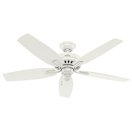 Hunter Newsome Fresh White Ceiling Fan