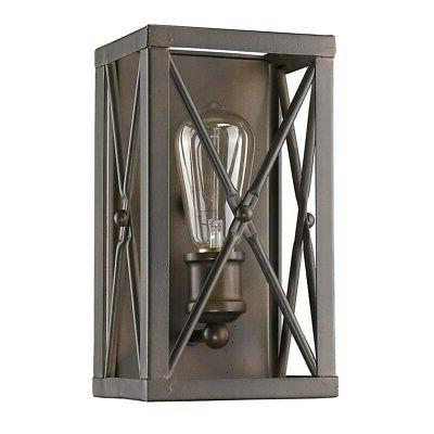 Acclaim 1-Light Sconce Rubbed