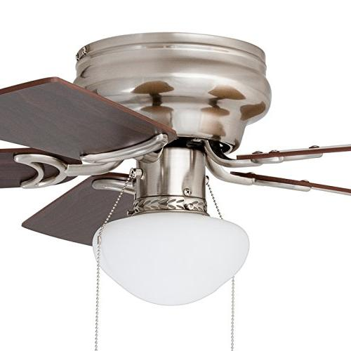 Prominence Led Profile Ceiling Fan inches Satin Nickel