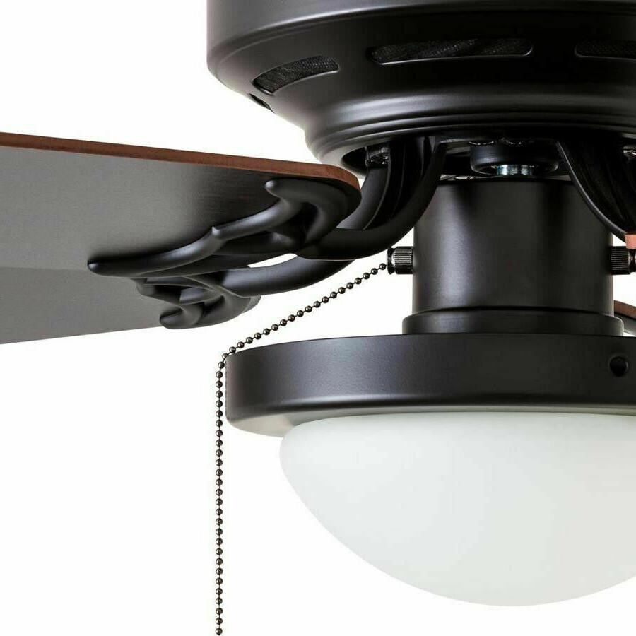 Harbor Armitage 52-in Bronze LED Indoor Mount Ceiling Fan Kit