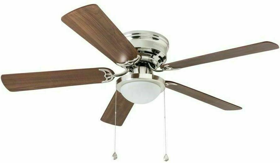Harbor Breeze Armitage 52-in Brushed Mount Ceiling Fan