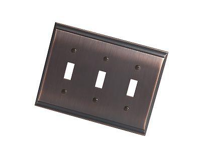 bp36502orb candler 3 toggle wall plate oil