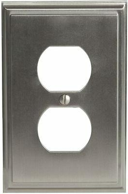 Amerock BP36522ORB Receptacle Plate Oil-Rubbed Bronze