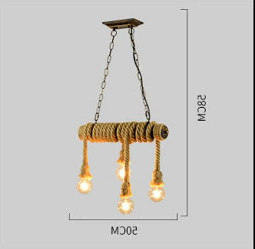 Brown Cafe Retro Pendent Lamp Fixtures
