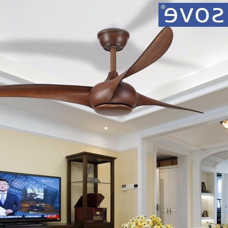 SOVE Brown fans living fan with remote control