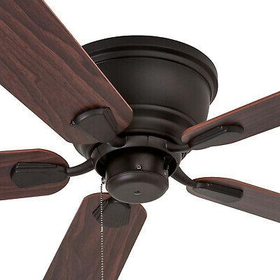 Prominence Ceiling Fan Saddle Bronze w/