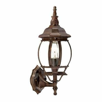 Acclaim Lighting Chateau Collection Wall-Mount 1-Light Brown